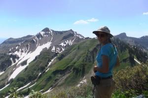 Beth hiking