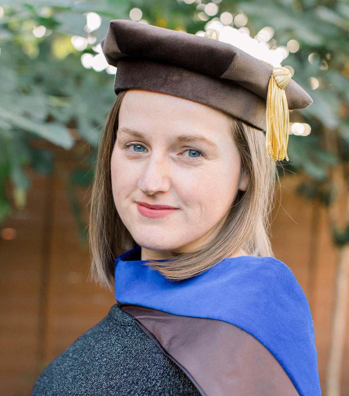 La Cava graduation portrait